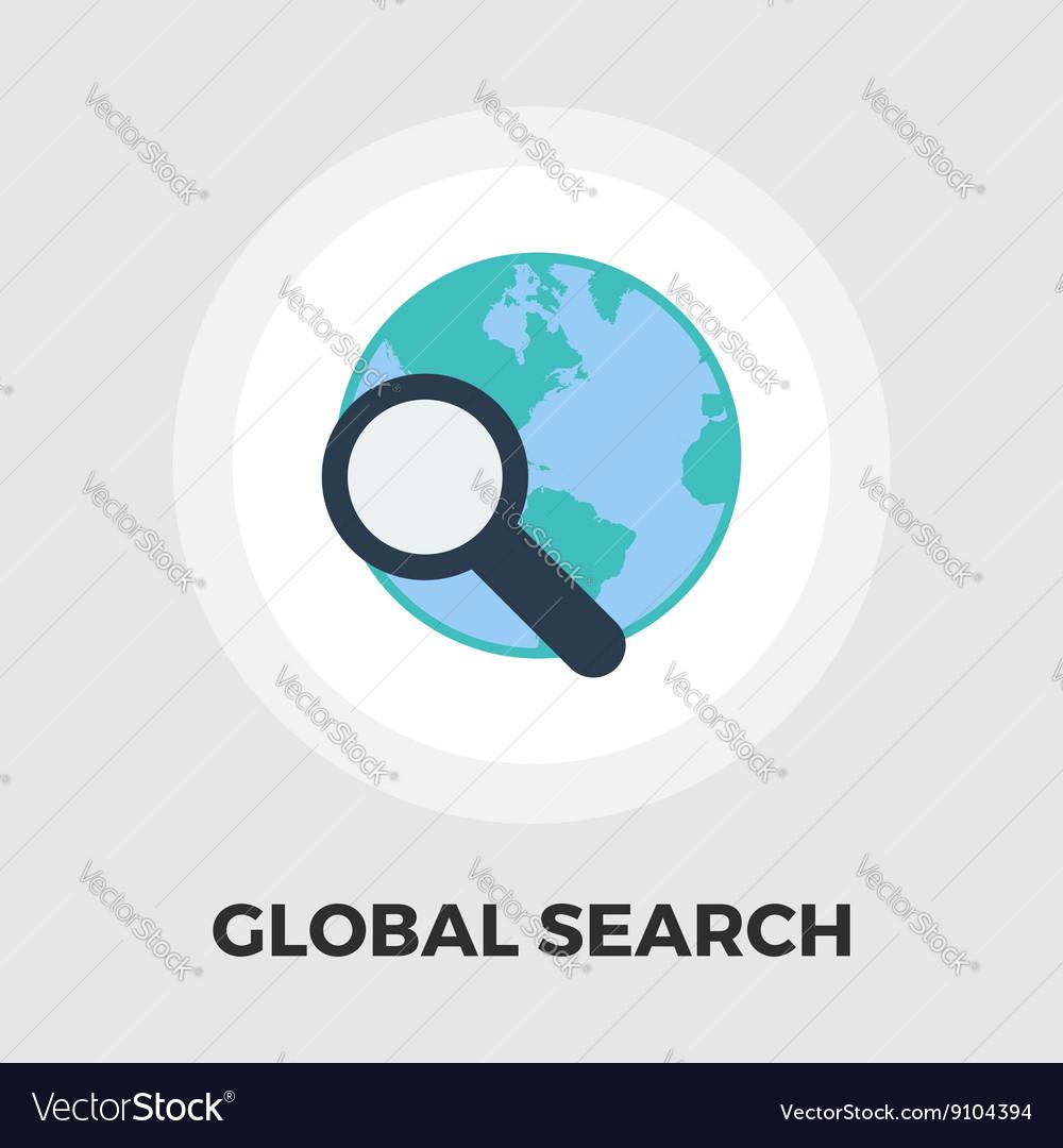 Global search flat icon