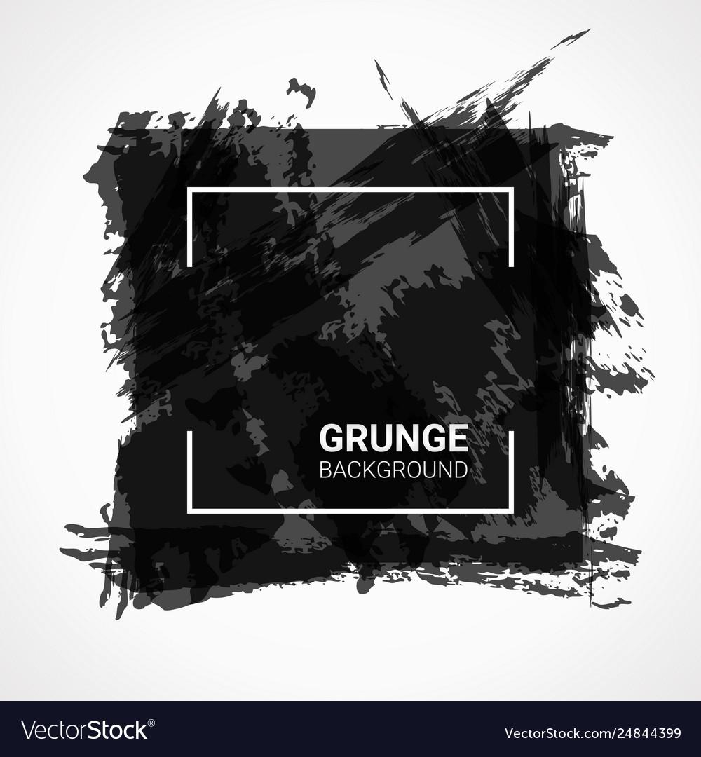 Abstract background black grunge design elements