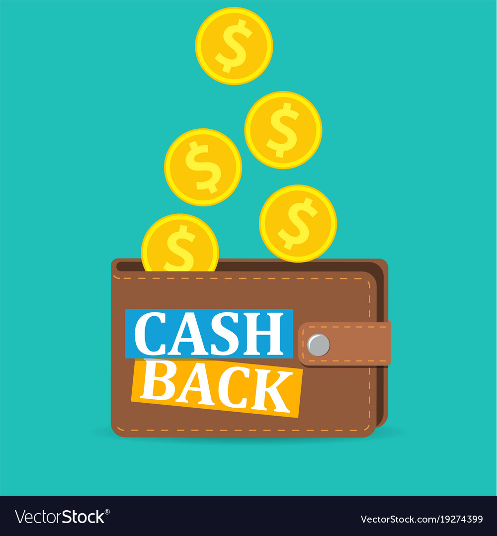 cash back icon royalty free vector image vectorstock vectorstock