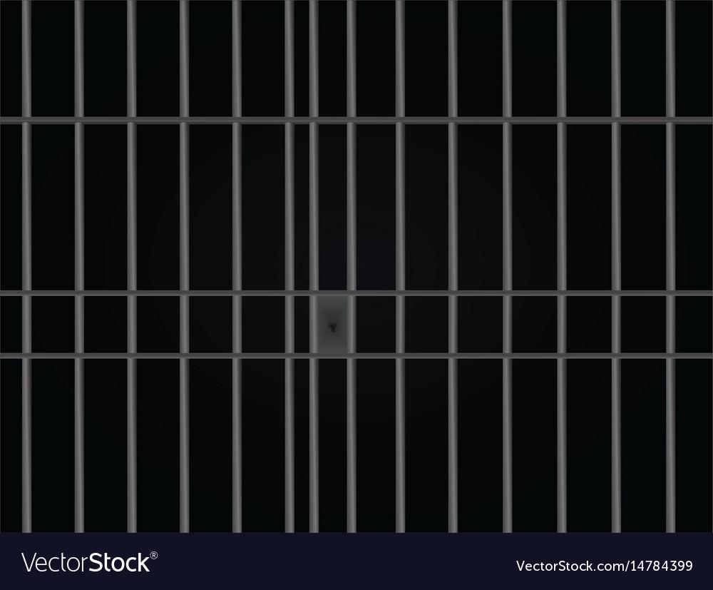 Prison bars cell