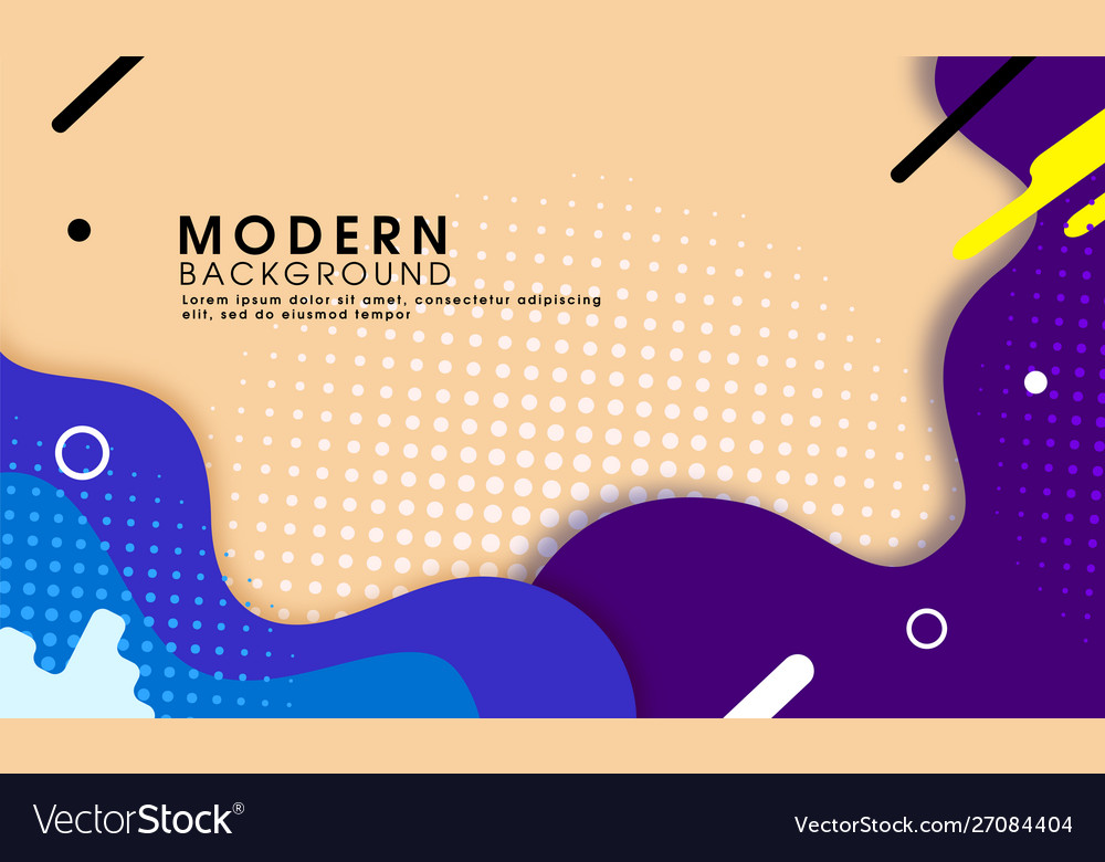 Abstract trendy modern background