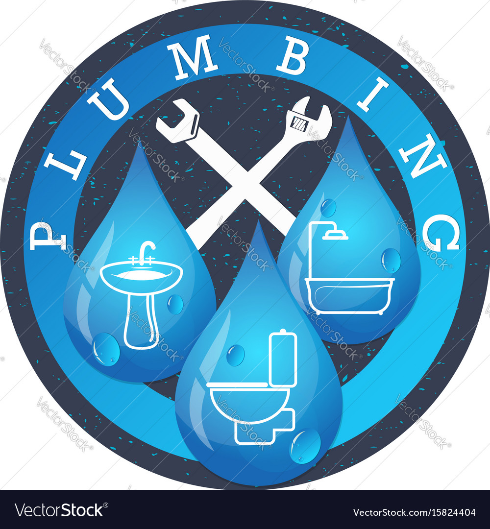 Plumbing And Running Water Royalty Free Vector Image