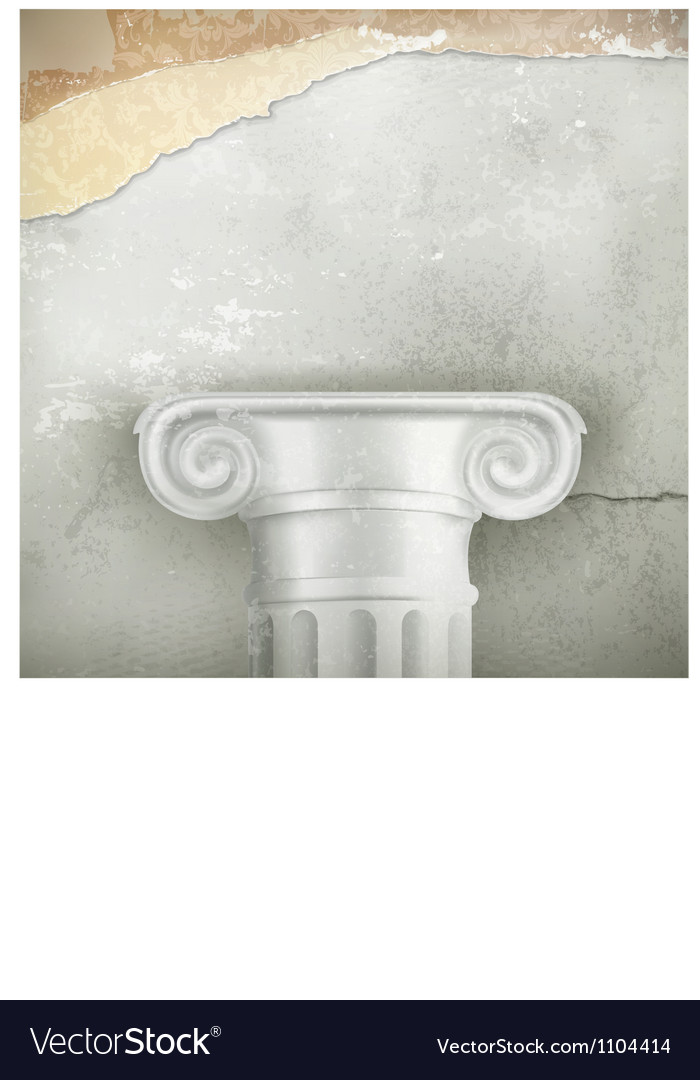 Column vintage background