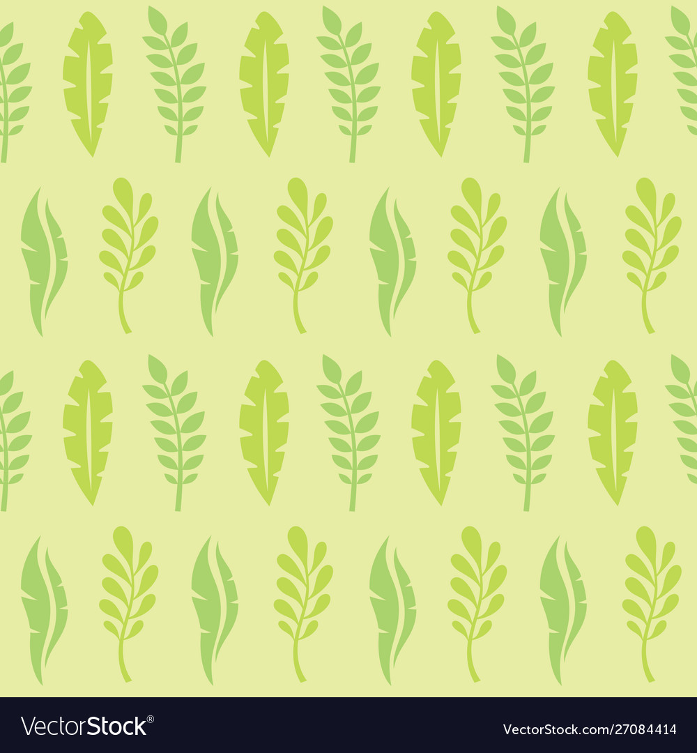 Leaves exotic plants - creative