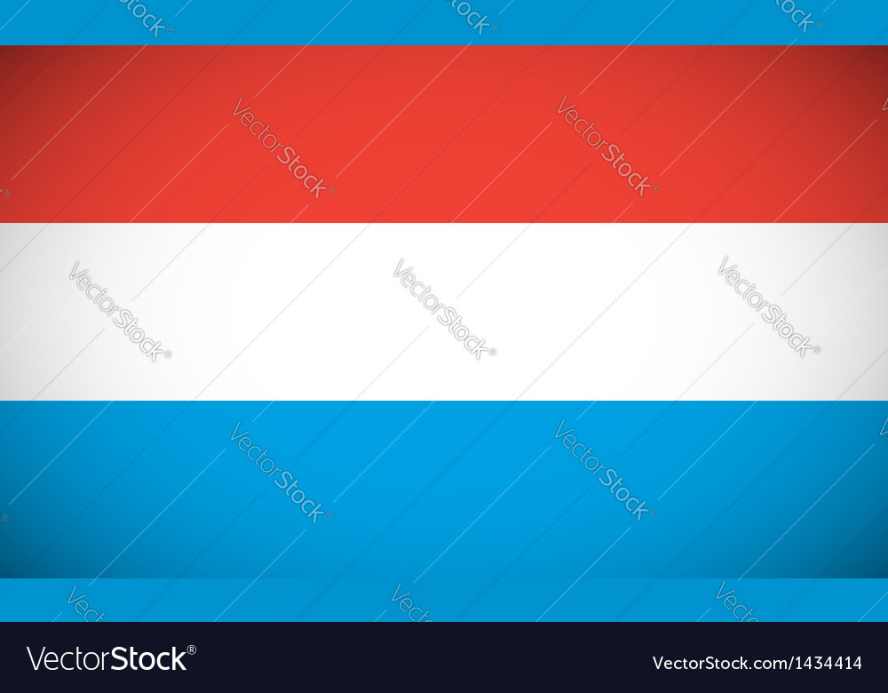 National flag of Luxembourg