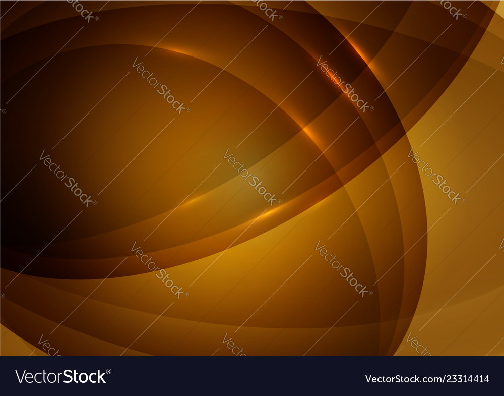 Wave orange color abstract background with copy
