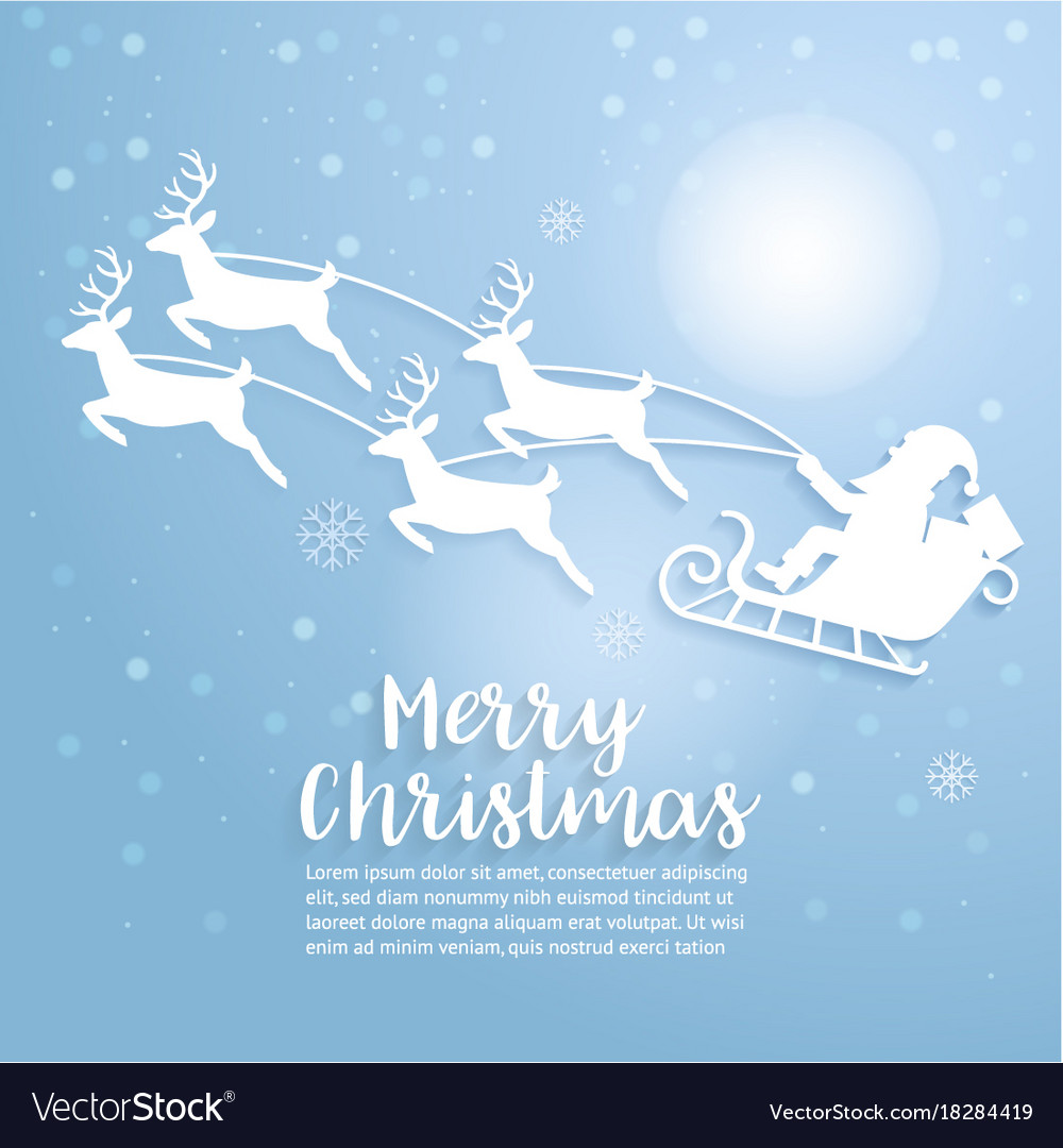 Merry christmas art and