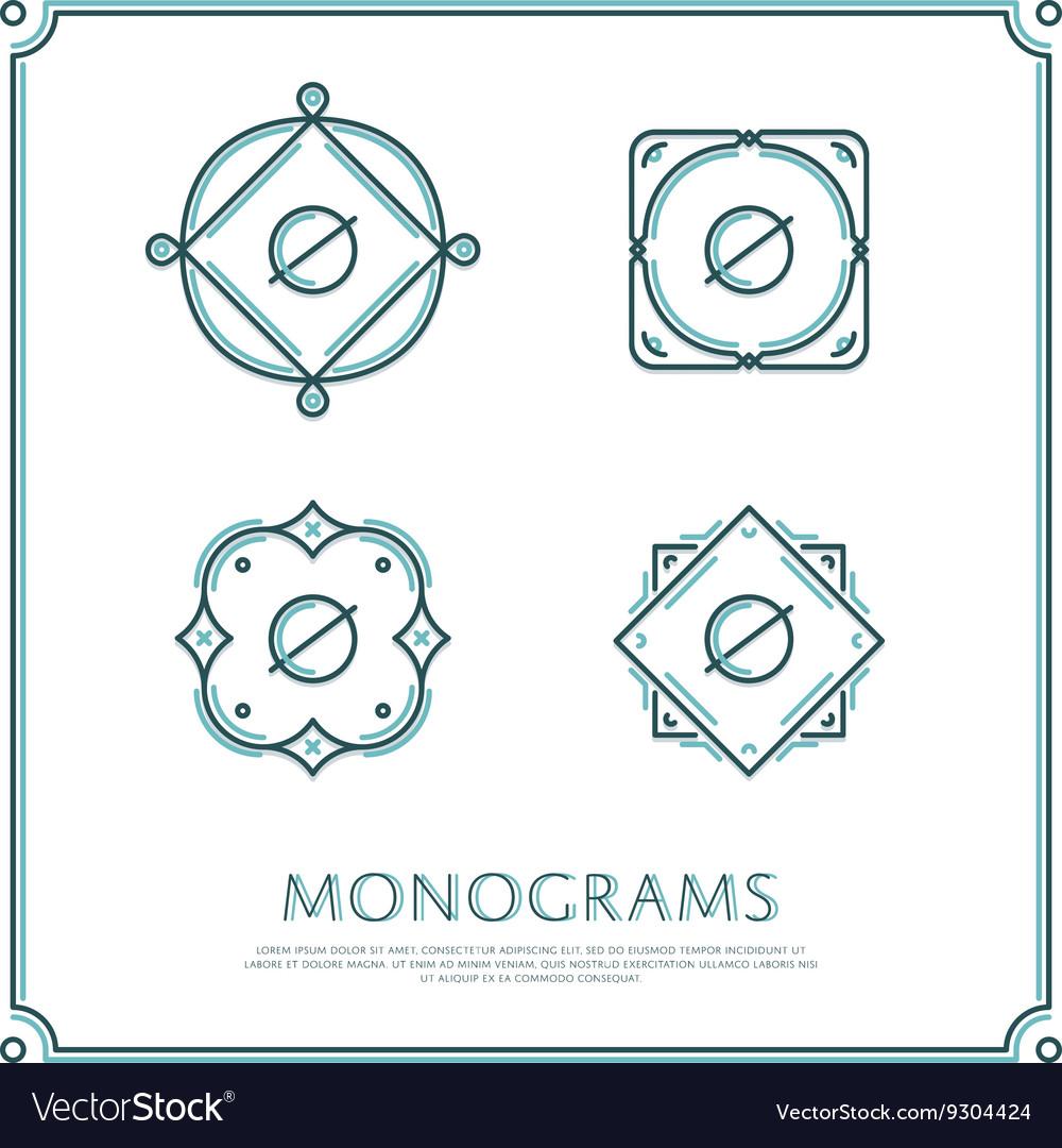 Letter O Monogram