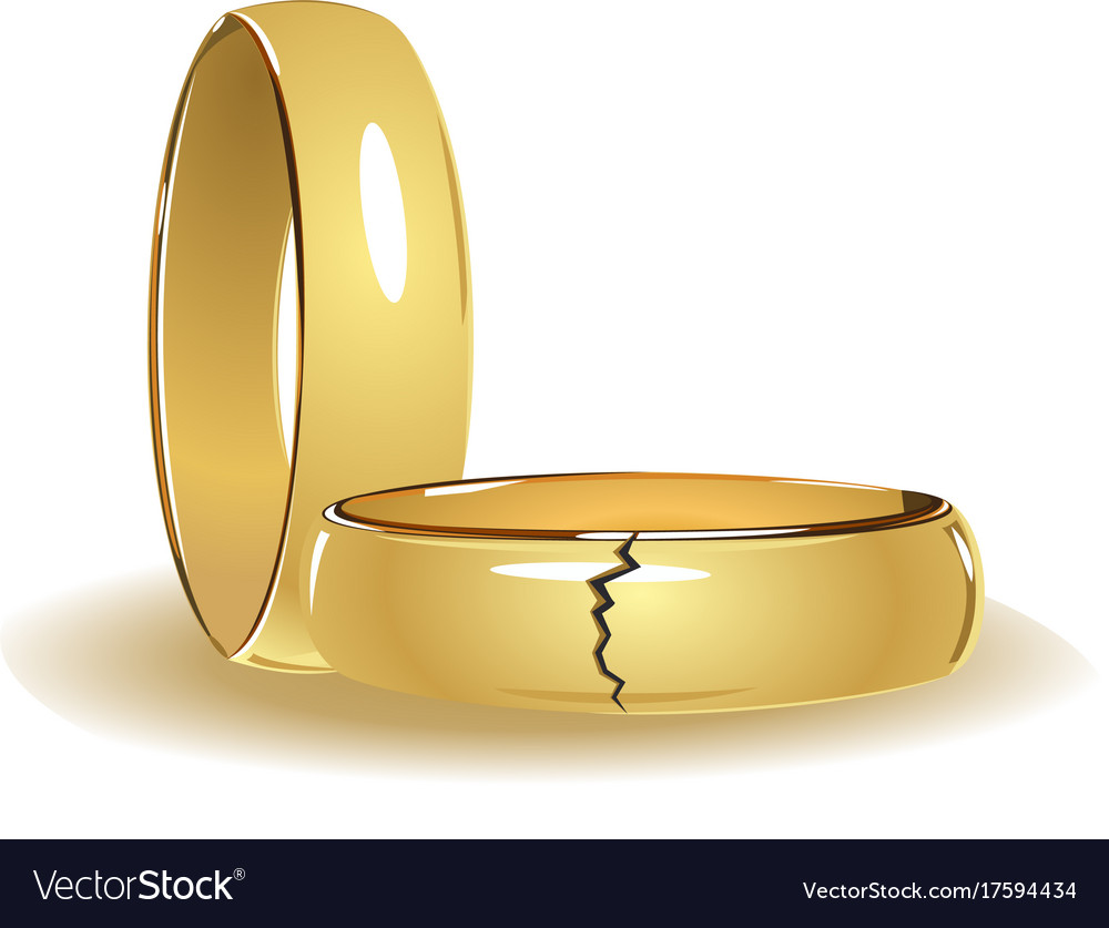 gold matvuk broken awesome illustration com stock inspirational rings of wedding