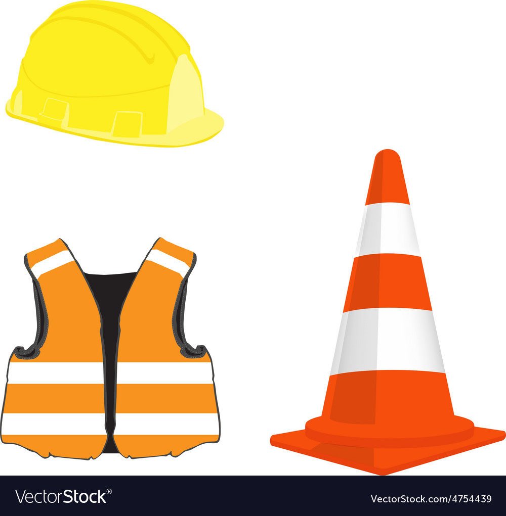 Buildig set vector image
