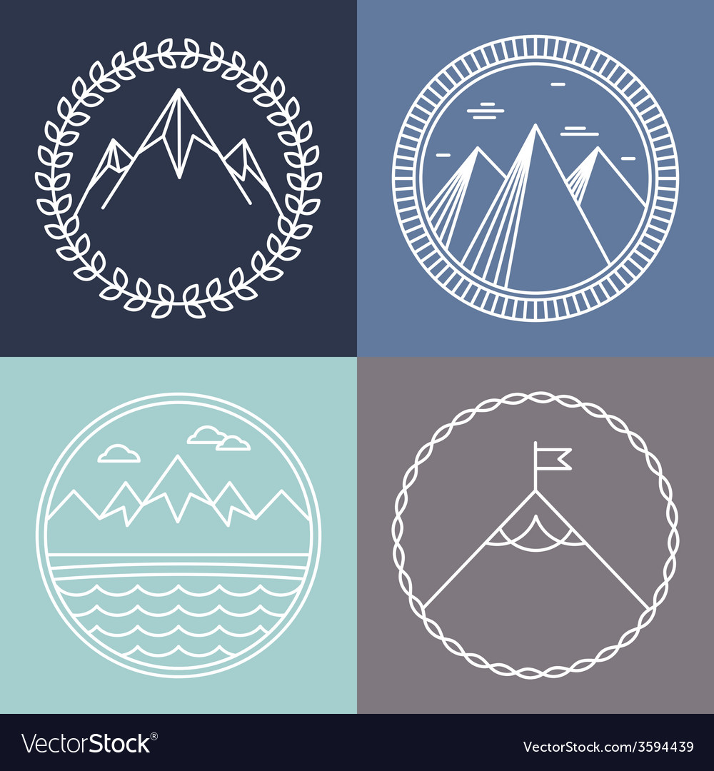 mountain logos - Hizir kaptanband co