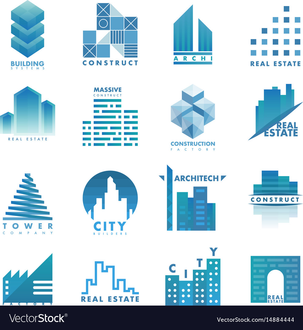 Architecture building skyscraper construction vector image