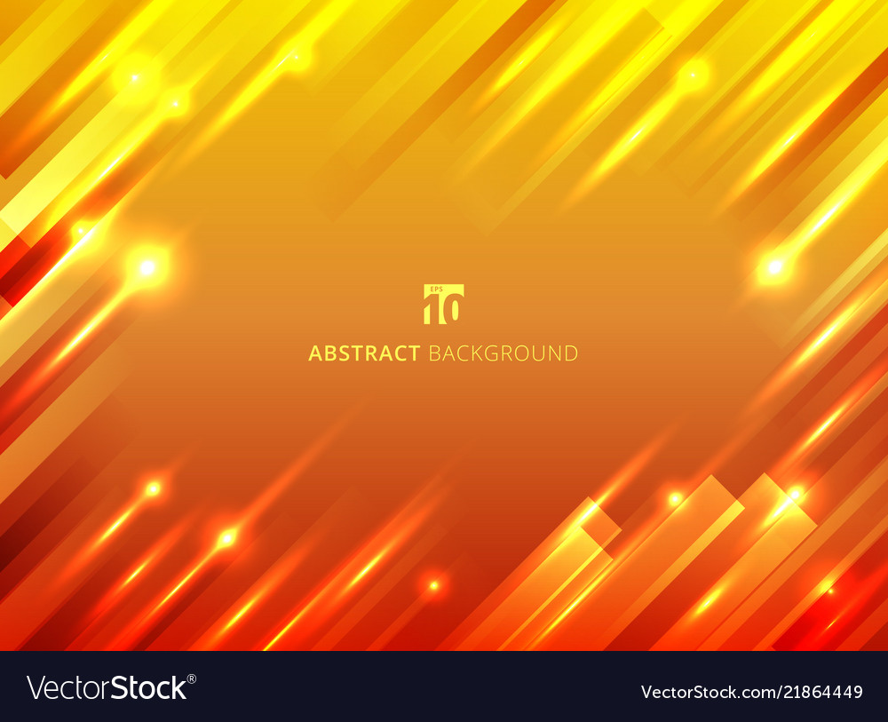Abstract geometric motion with lighting glow