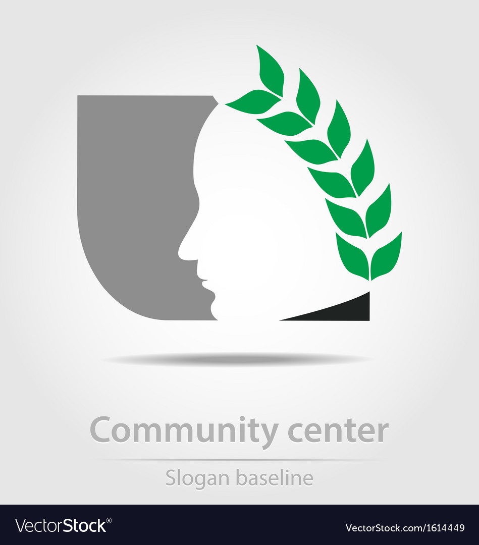 Original community center business icon