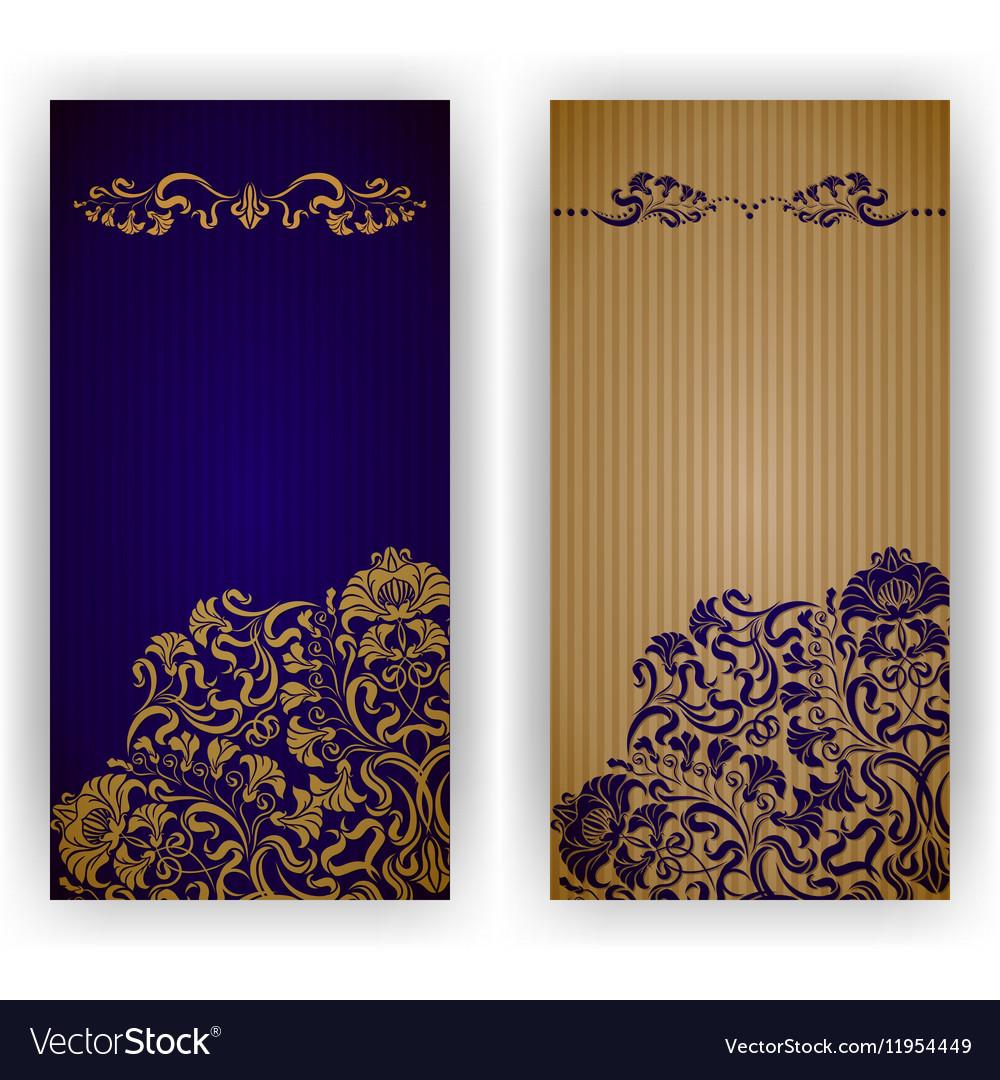 Template design for invitation