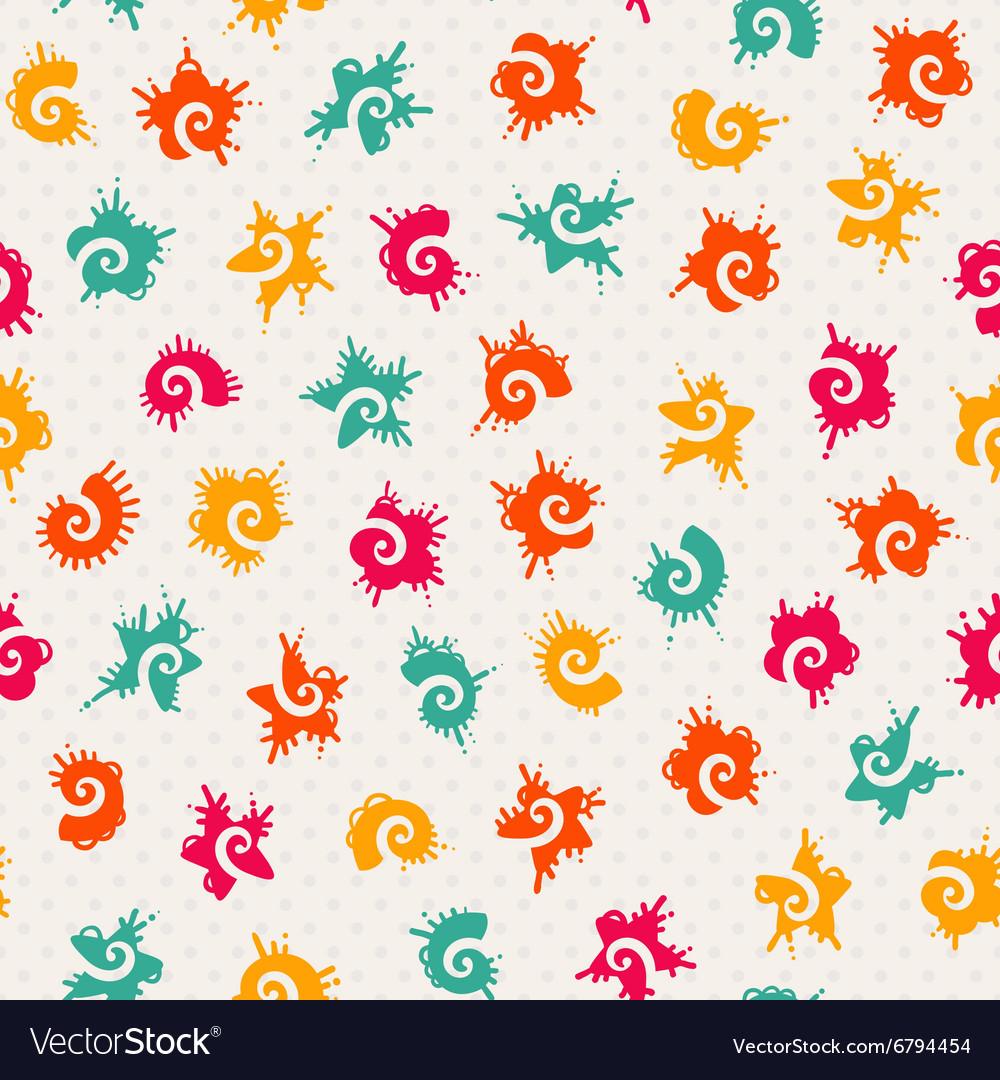Seamless baby pattern