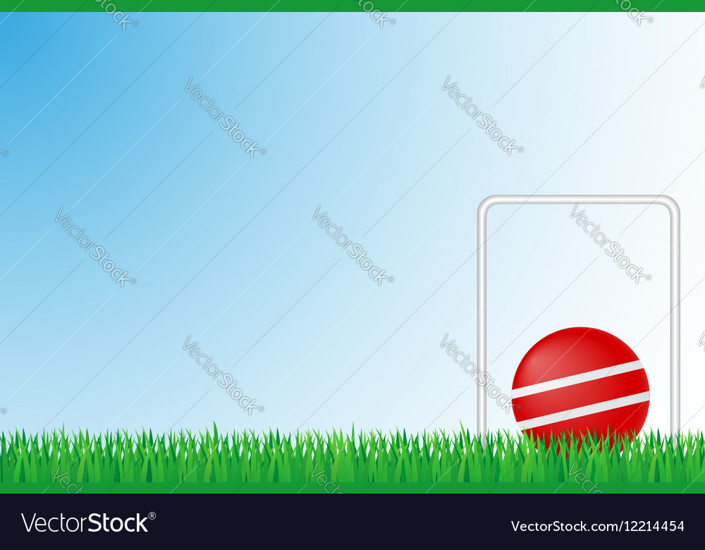 Sports grass field 03 vector image