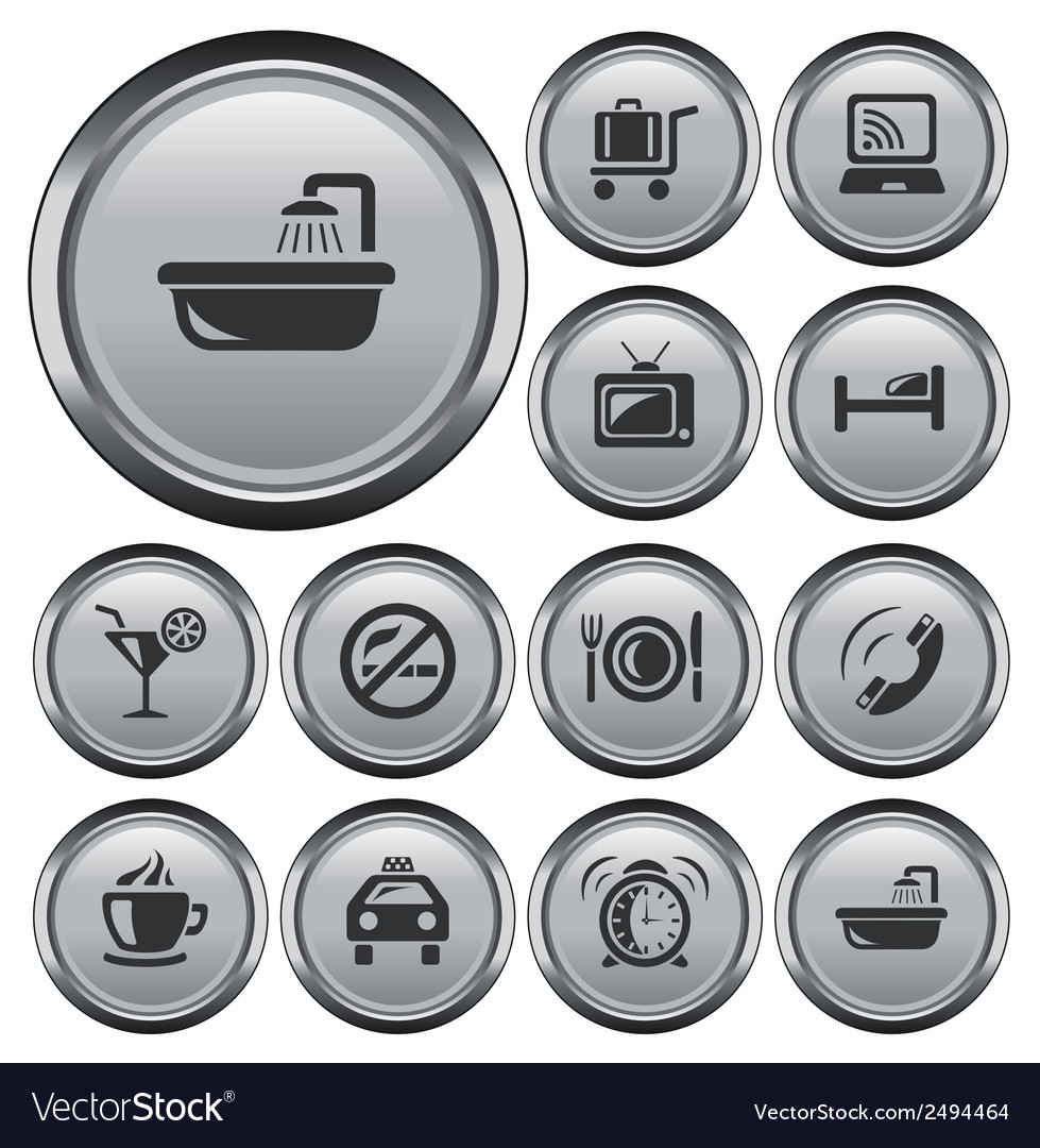 Hotel buttons