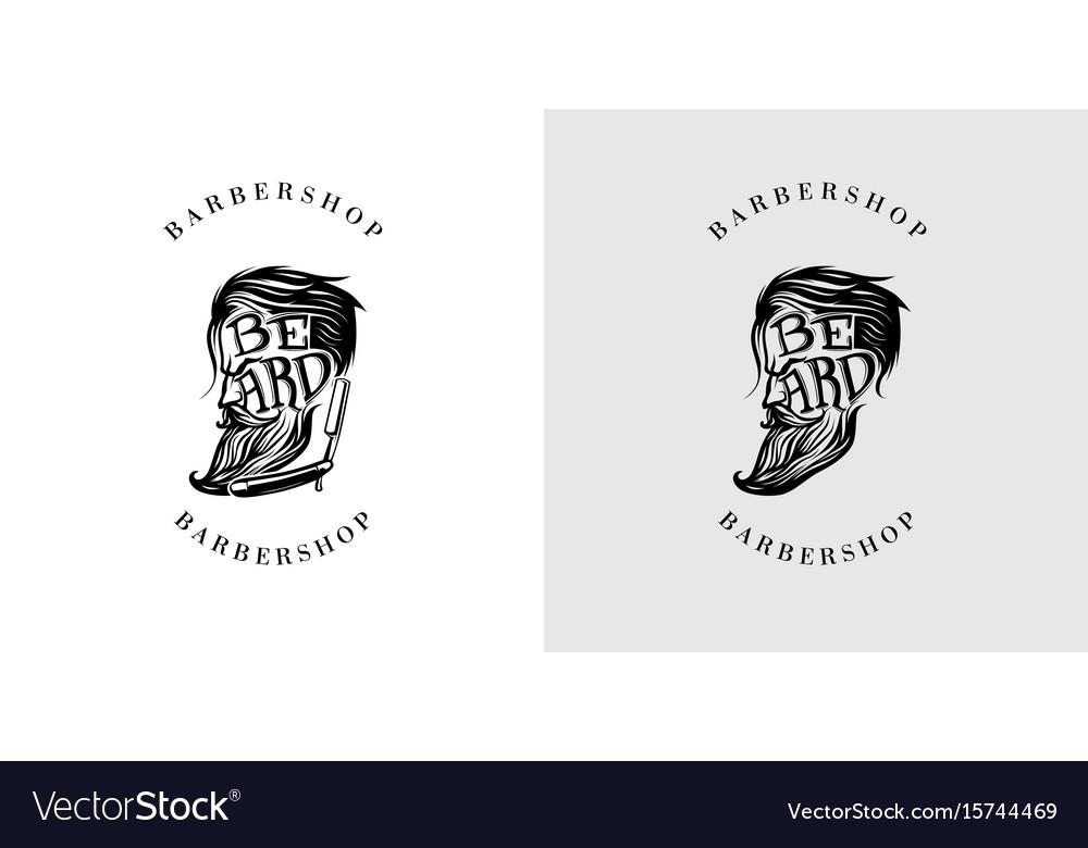 Beard letter logo