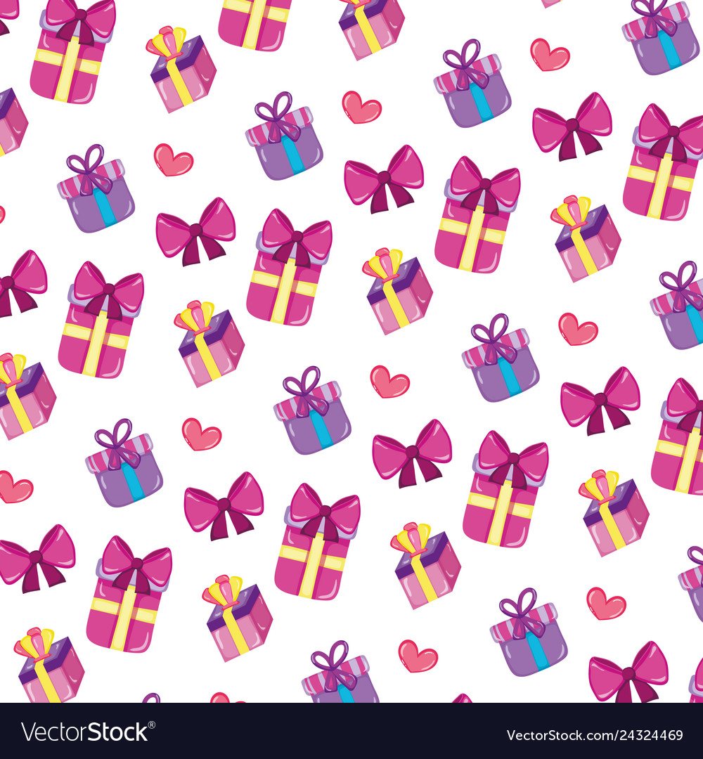 Close presents gifts boxes background