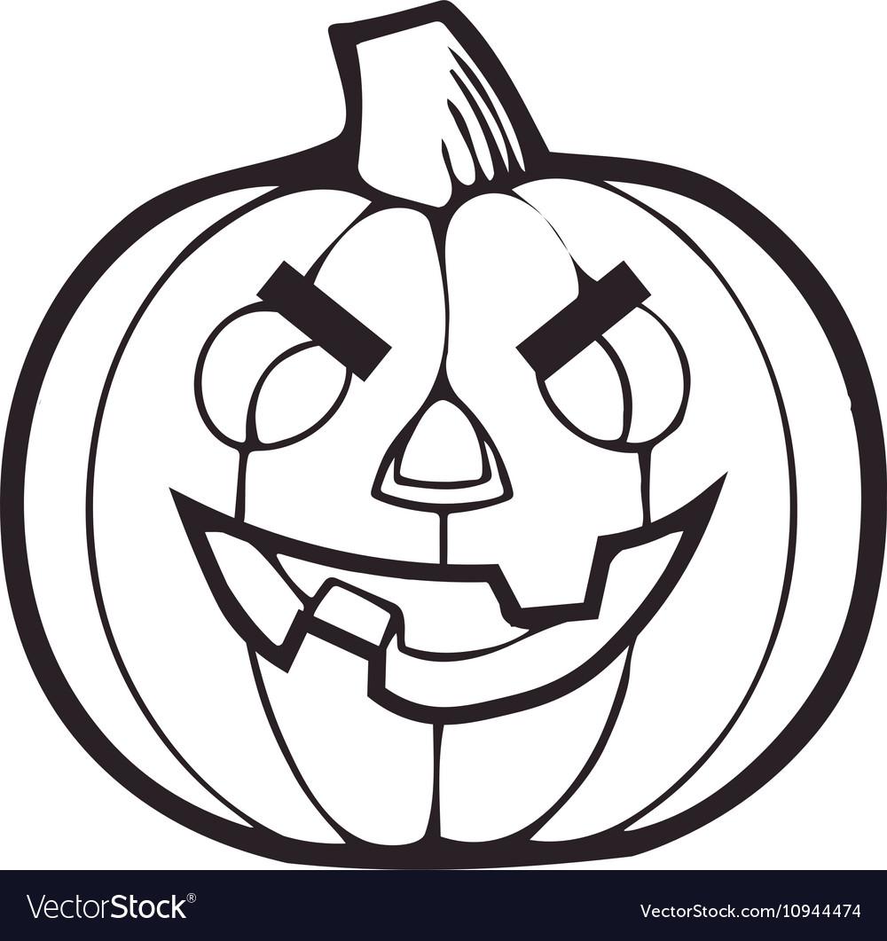 Monochrome Decorative pumpkin Thanksgiving