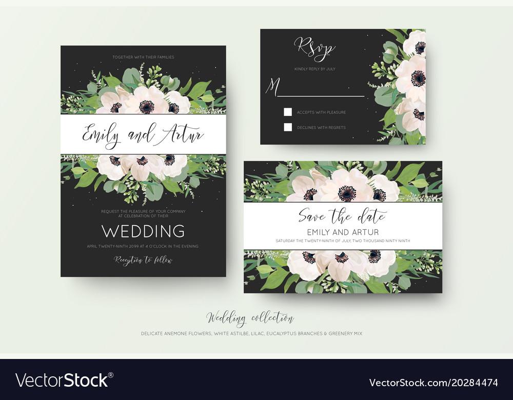 Wedding invite invitation save the date rsvp