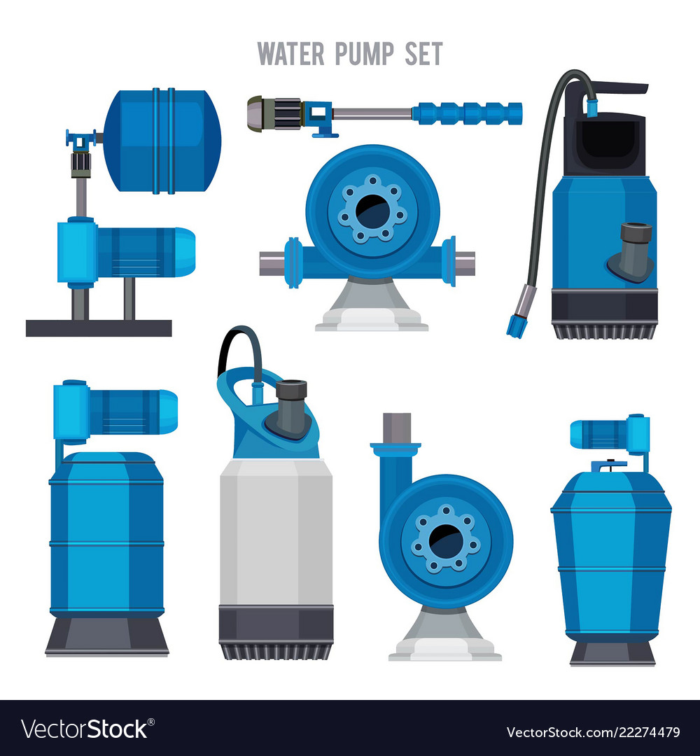 Water pump system aqua treatment electronic steel