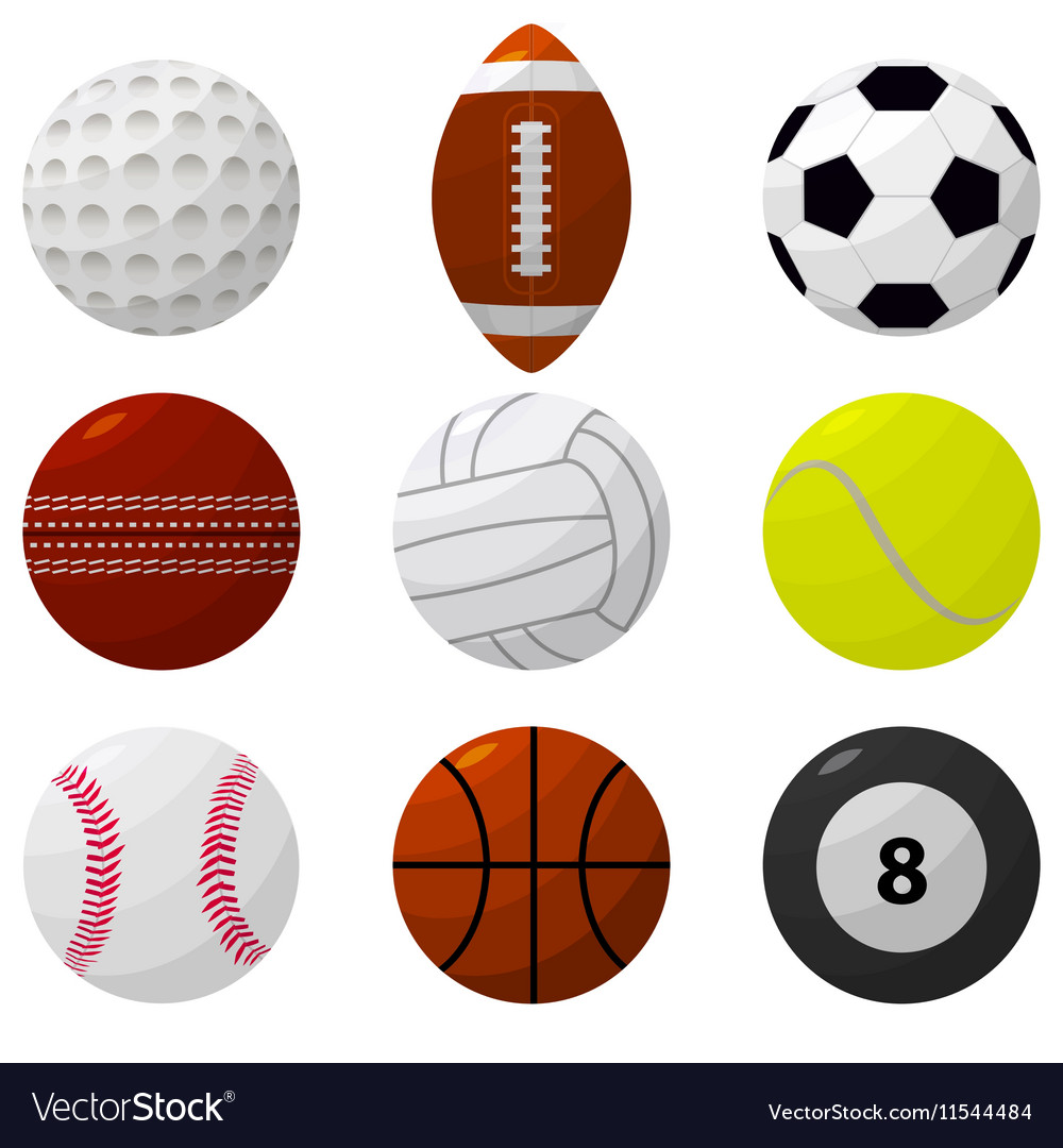 Sport Ball Set for Different Games