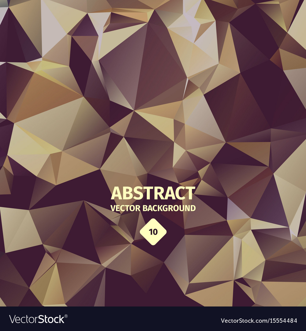 Triangle abstract background brown color