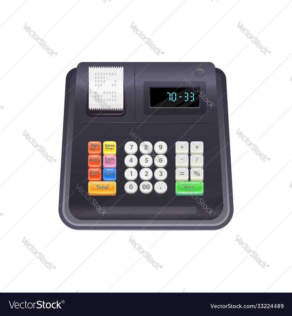Modern cash register isolated till device