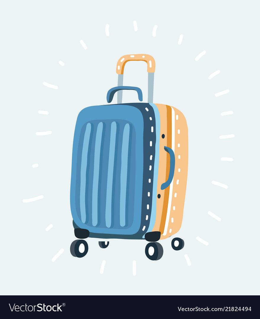 Color plastic travel bag