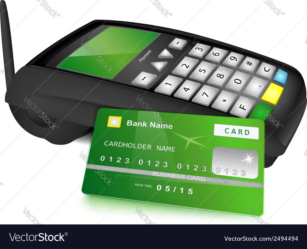 Payments concept vector image