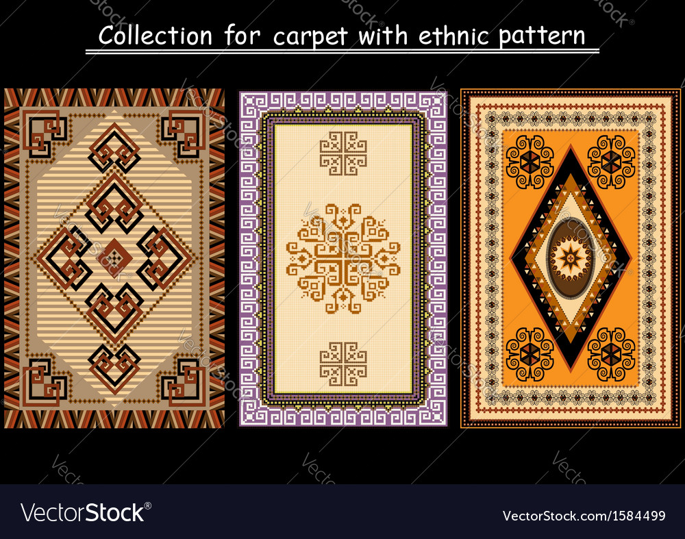 Collection for carpet