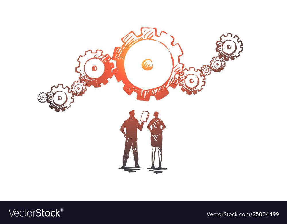 Data gear analytics business technology