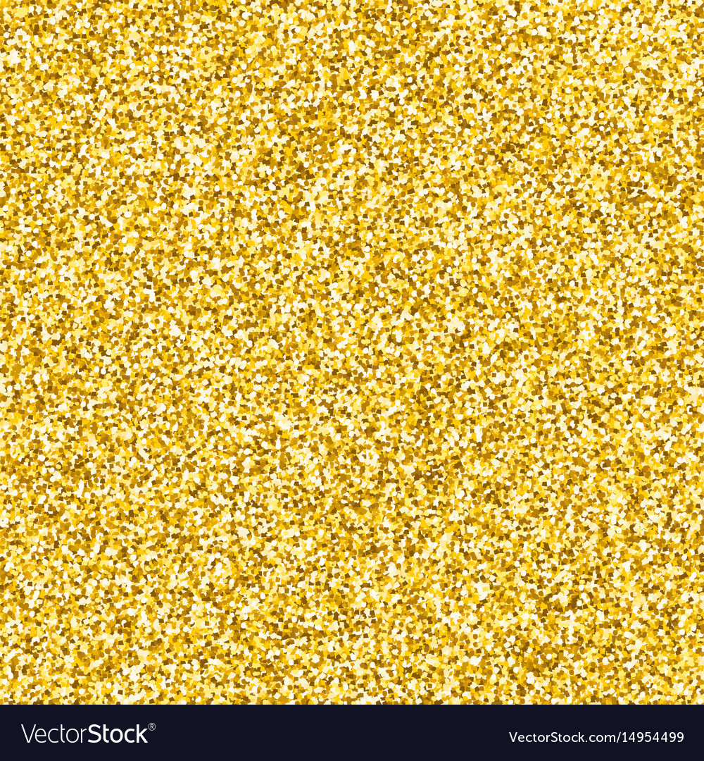 Gold glitter texture vector image