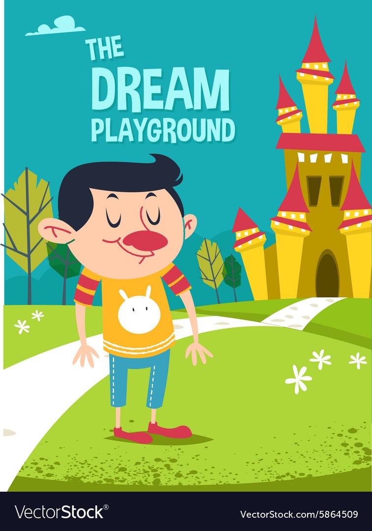 Cartoon dream playground