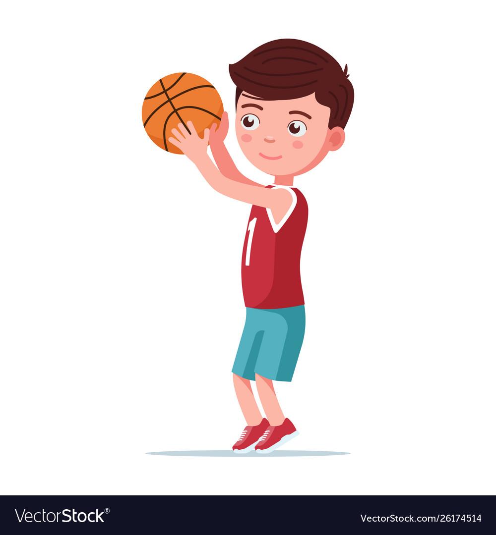 Мальчик бросает мяч картинки