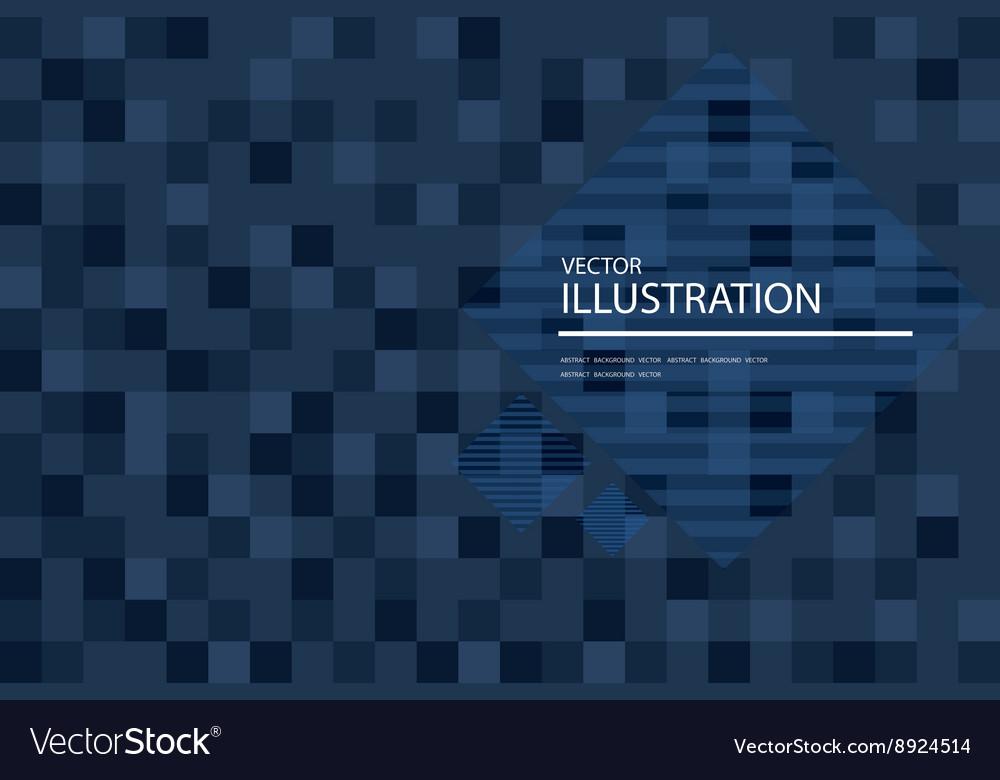 Dark blue mosaic background