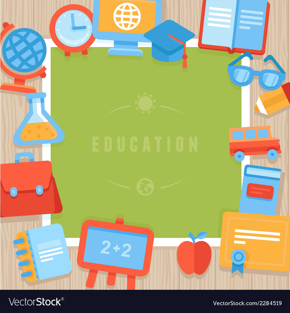 Education greeting card