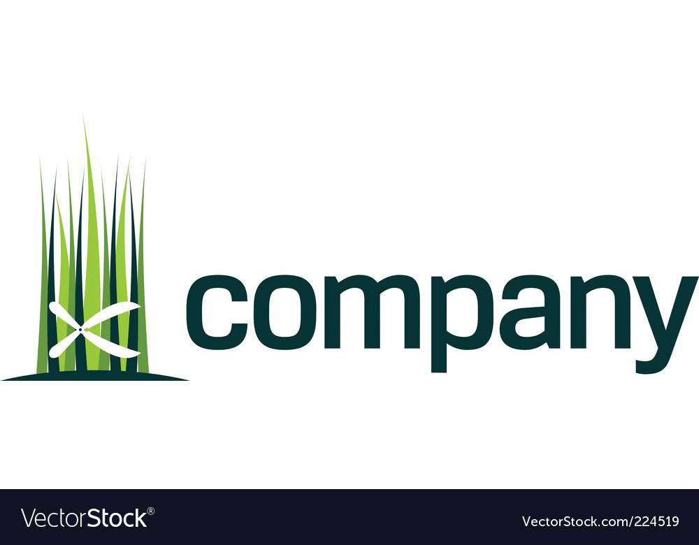 Gardening shears logo vector image