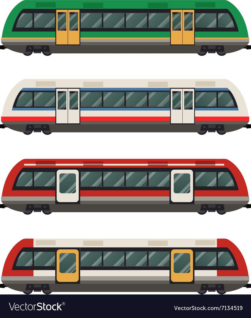 Set of railbuses
