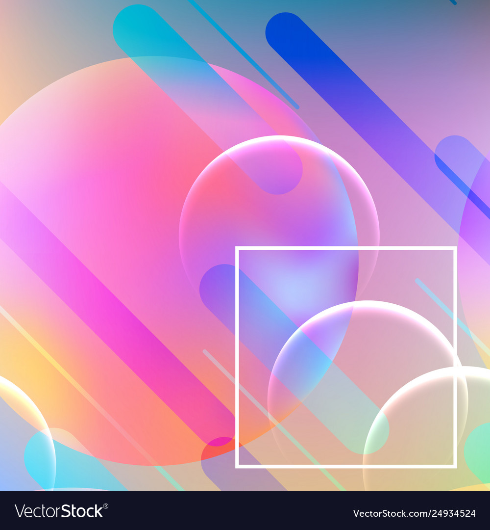 Abstract dynamic geometric background