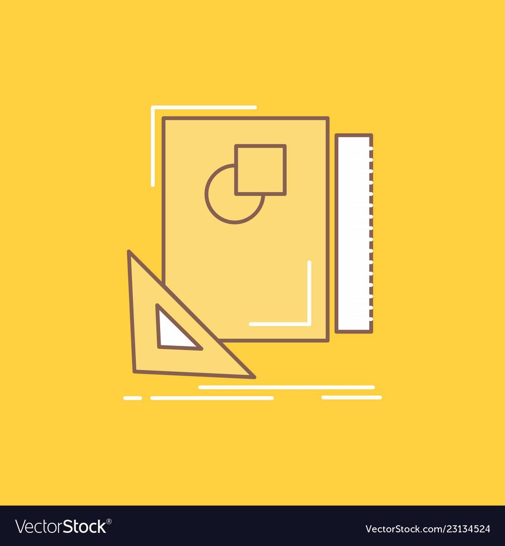 Design layout page sketch sketching flat line