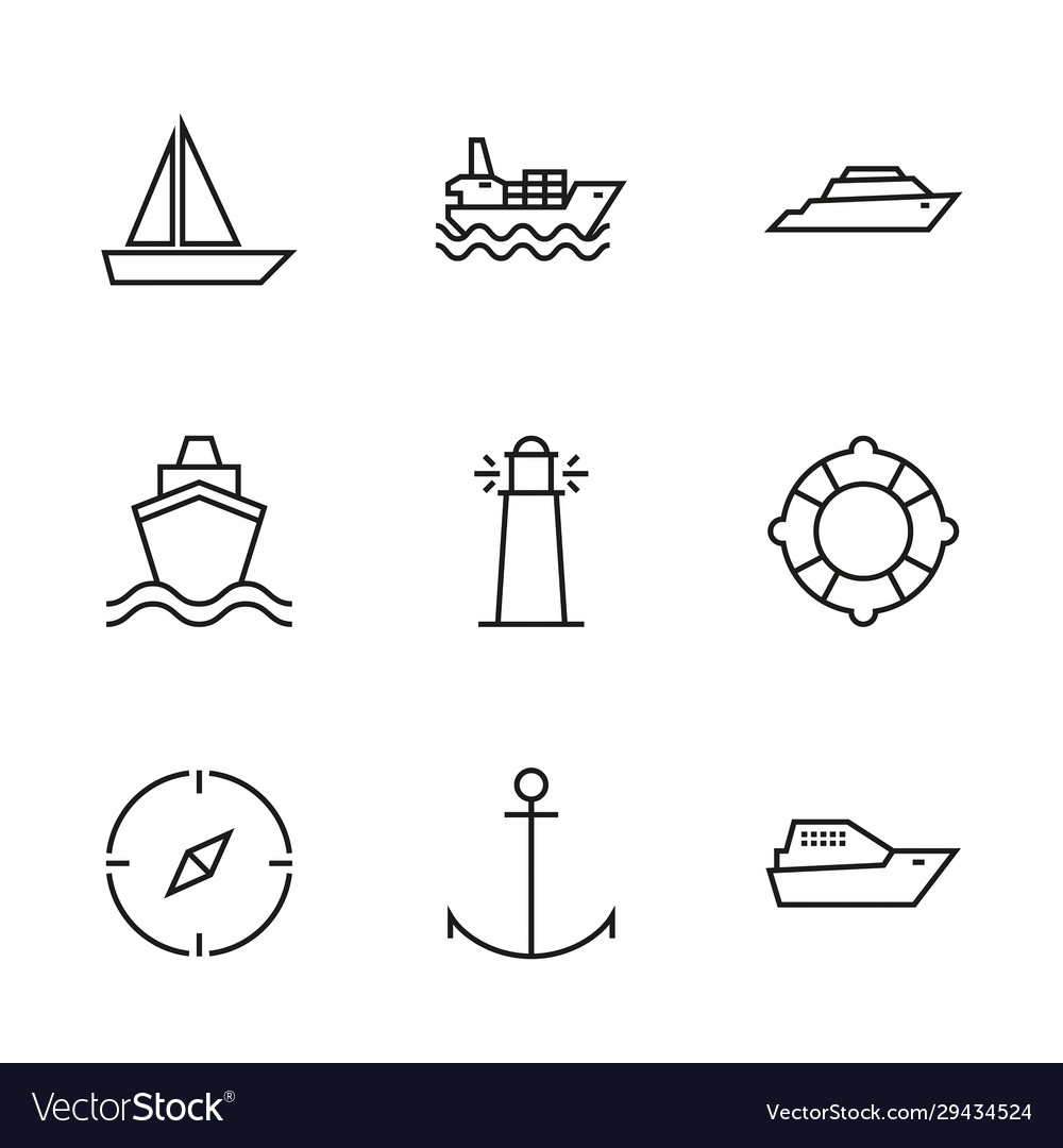 Transport ships and yachts