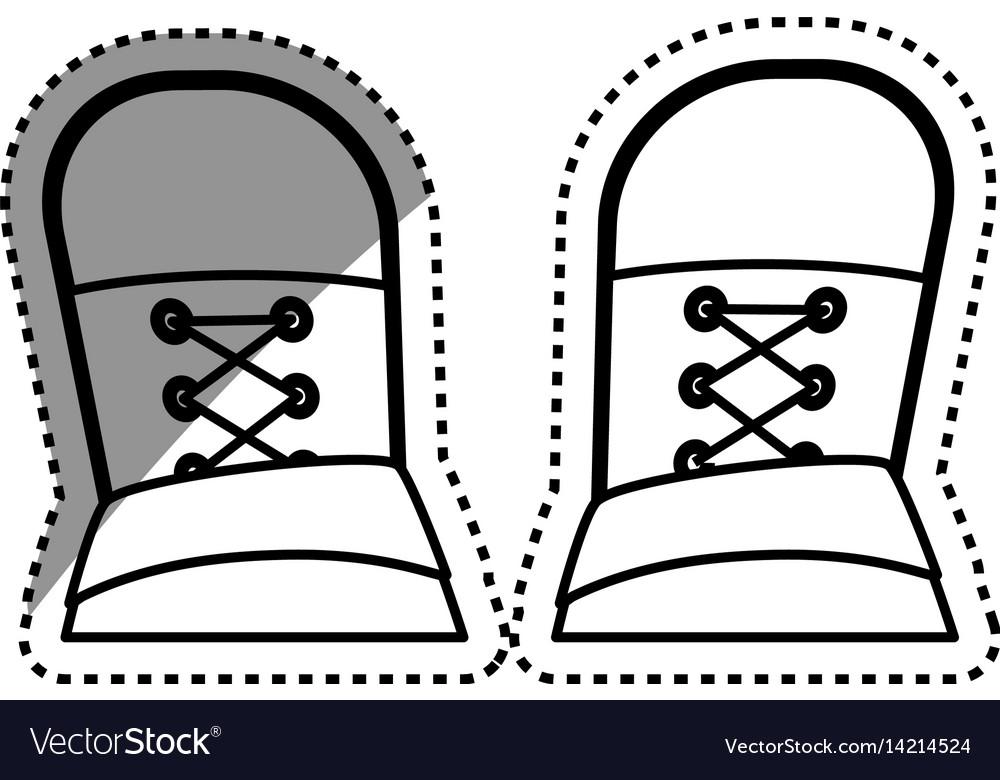 Urban sneakers footwear