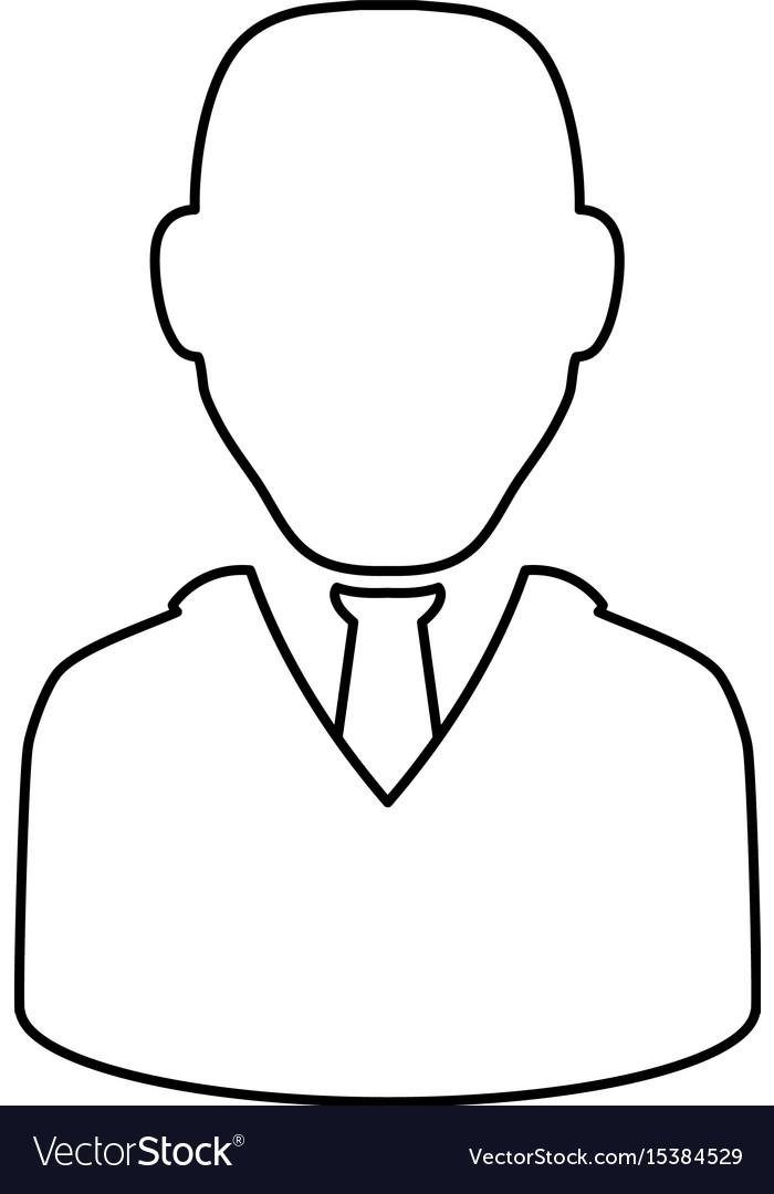 Businessman Executive Avatar Vector Image