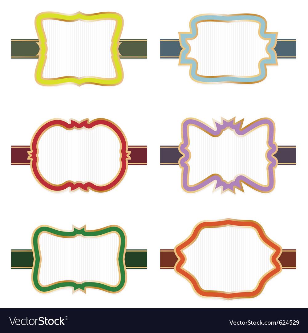 Decorative labels