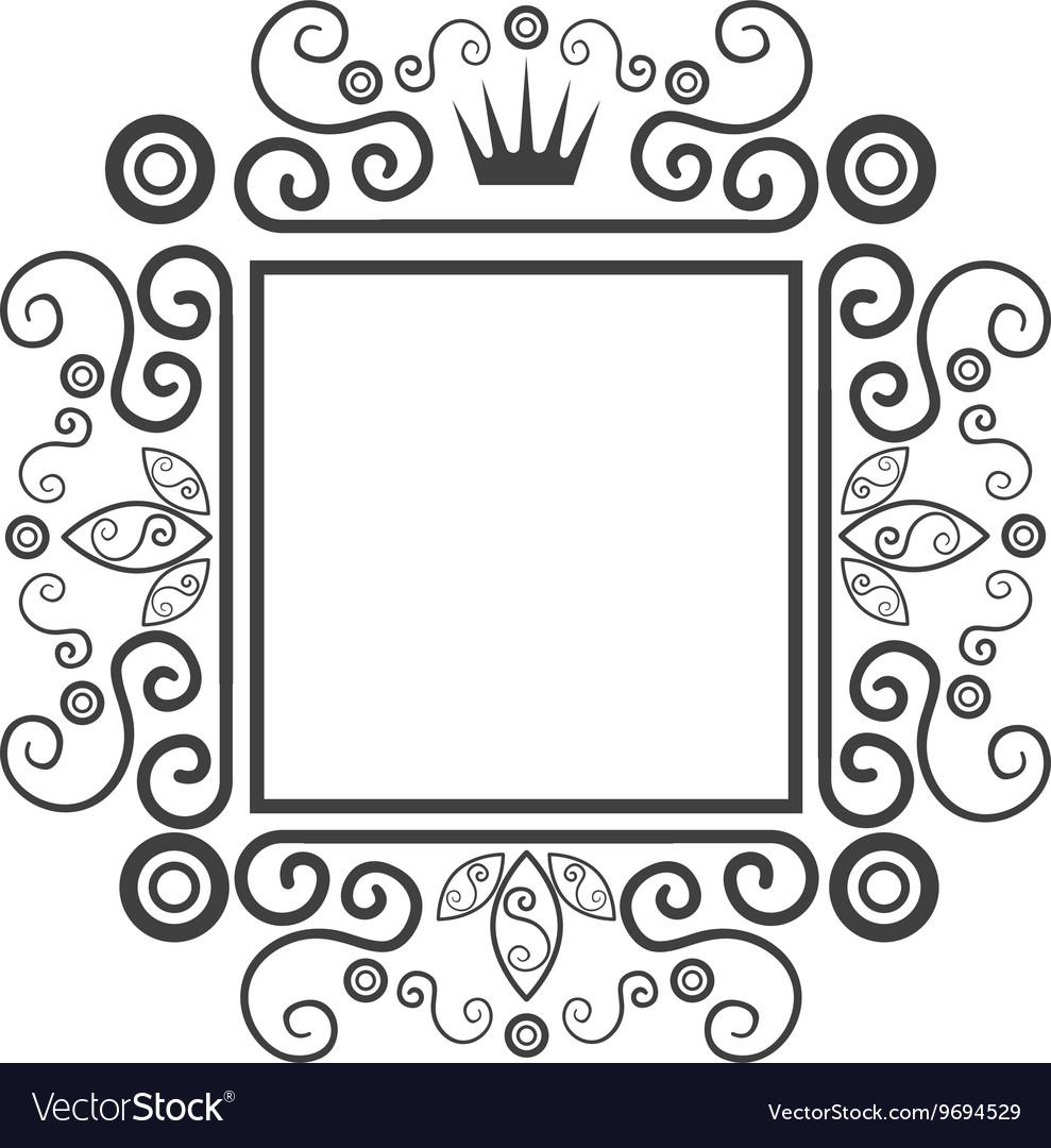 Victorian ornament graphic design