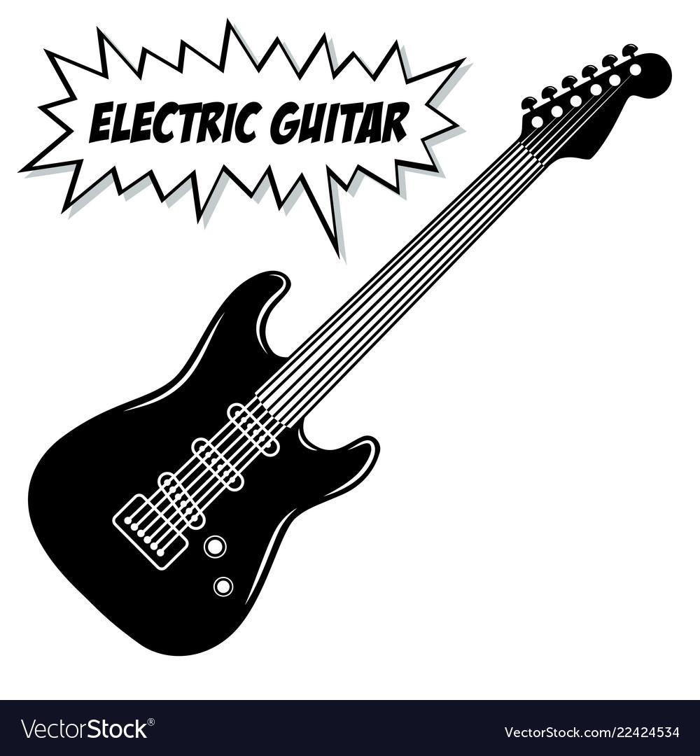 Electric guitar 6 strings
