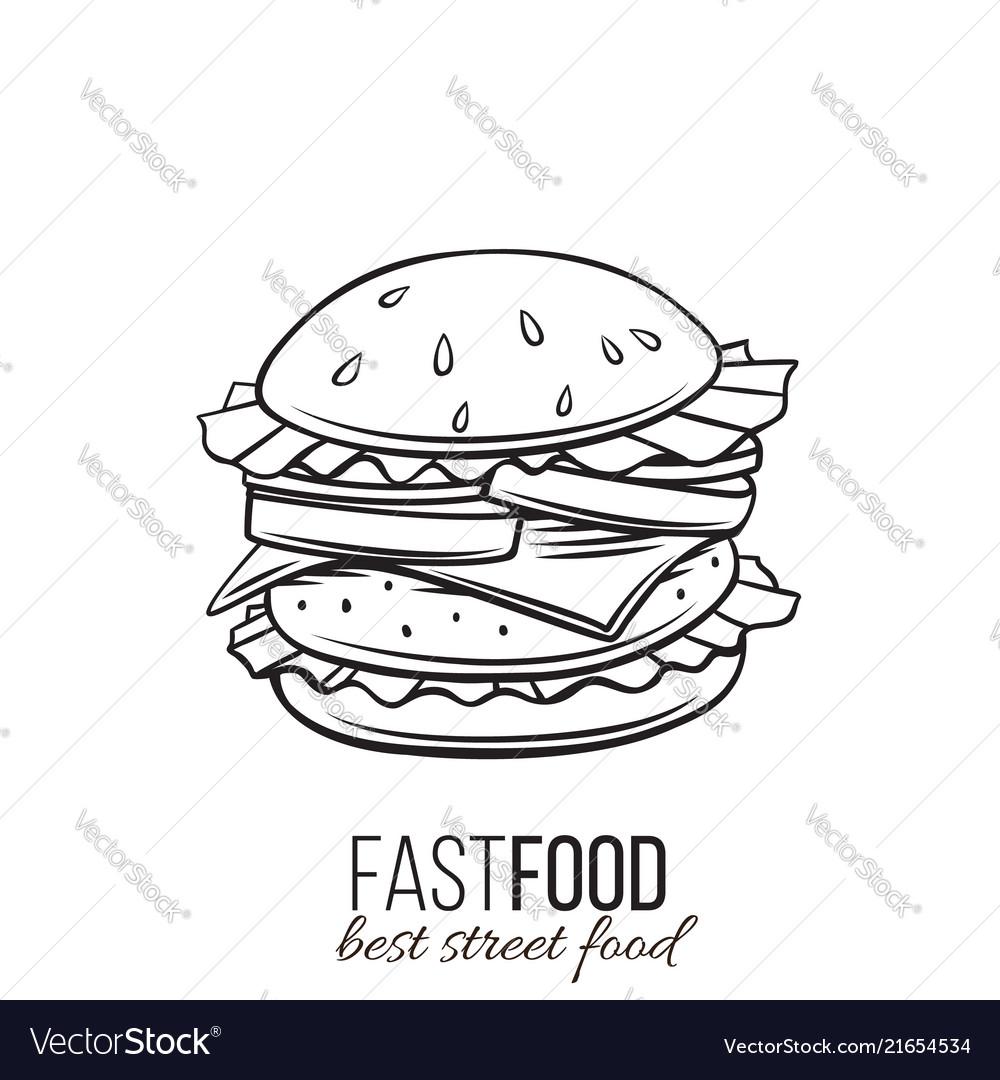 Hamburger icon outline